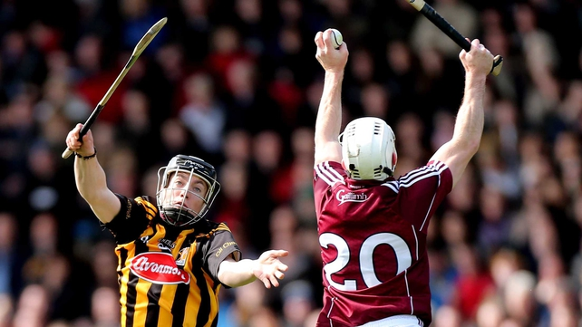 Kilkenny's Matthew Ruth and Andrew Smith of Galway