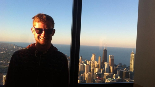 Kevin on top of Willis Tower
