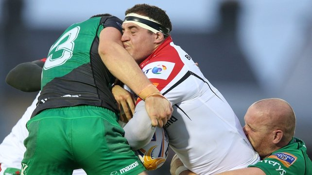 Ricky Lutton has signed a two-year deal with Ulster