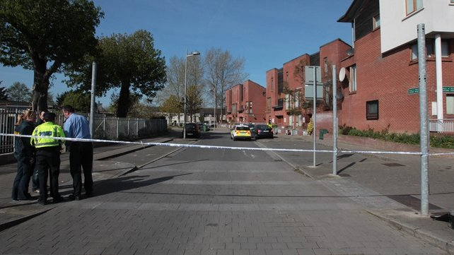 The scene has been preserved and gardaí are investigating the shooting