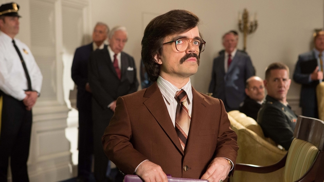 Peter Dinklage of Game of Thrones as Dr Trask