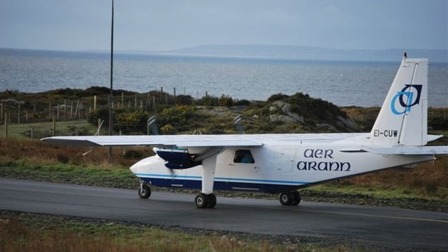 Aer Arann Islands runs a number of daily flights from each of the three islands to Inverin