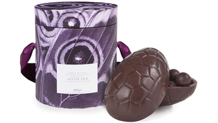 Harvey Nichols Dark Chocolate egg filled with dark chocolate truffles €29.95