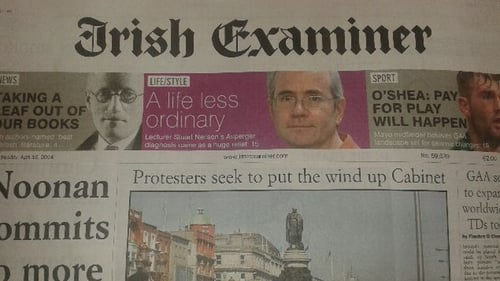 There had been a 'cloud of uncertainty' over the Irish Examiner's future