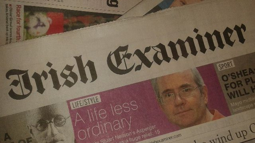 The Examiner had been subject to sale speculation for around a year, with the newspaper reportedly carrying debt in excess of €20 million