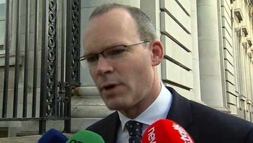 Simon Coveney said a coalition with Labour would be his strong preference