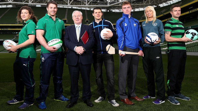 Minister for Sport Michael Ring announced details on a grassroots funding package