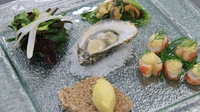 Irish seaweed platter with Soda bread - Fish challenge