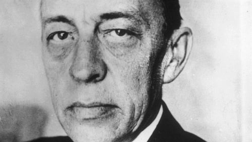 Rachmaninov photographed in 1929
