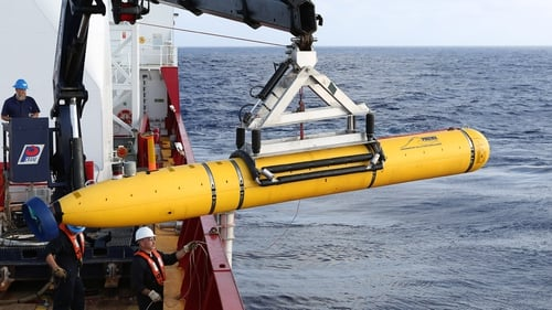 Bluefin-21 has been scouring the seabed in an area where undersea transmissions were detected