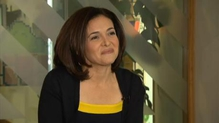 Sheryl Sandberg explains how policy changes can help women achieve their goals