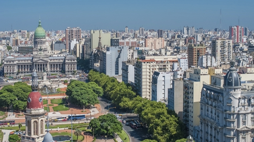 The malnourished girl was hospitalised after being found in Buenos Aires