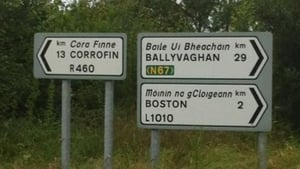 There were concerns about an absence of Irish language signage in some areas
