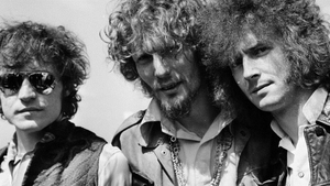 Cream in the Sixties: left to right, Jack Bruce, Ginger Baker, Eric Clapton