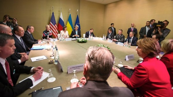 Talks took place in Geneva on the crisis in Ukraine and Russia