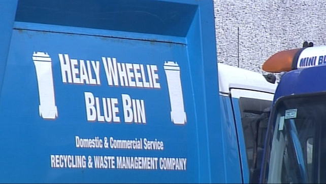 The owners of Healy's Blue Bins told the workers the company was closing for financial reasons