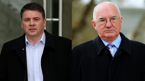Pat Whelan and William McAteer had pleaded not guilty to the charges against them