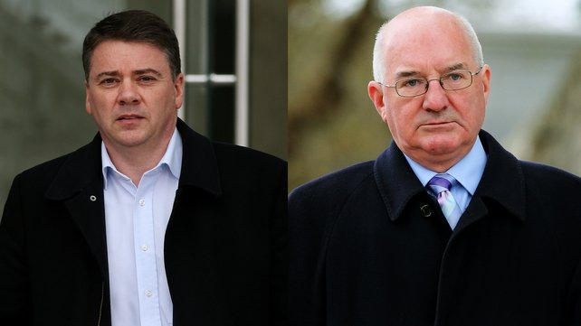 Patrick Whelan and William McAteer were found guilty of giving illegal loans