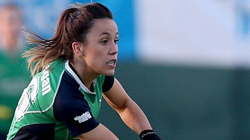 Anna O'Flanagan put in a fine performance, but Ireland could not match the USA