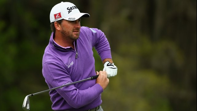 Graeme McDowell is in a share of 19th place at the halfway stage