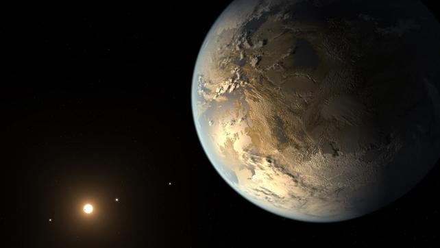 Artist's concept depicts Kepler-186f (Pic: NASA Ames/SETI Institute/JPL-Caltech)