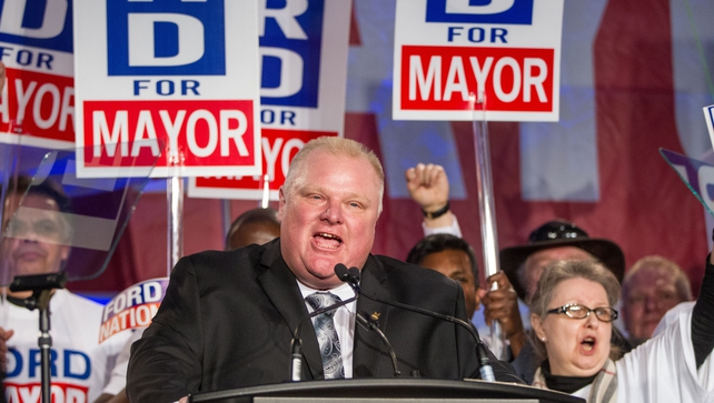 Rob Ford has admitted to binge drinking and smoking crack cocaine