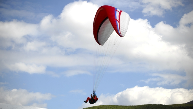 Two people hurt after paraglider collision in Co Wicklow