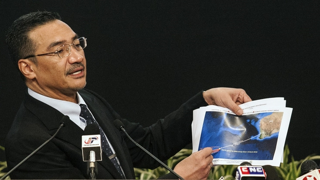 Hishammuddin Hussein appealed for everybody around the world to pray that MH370 is found