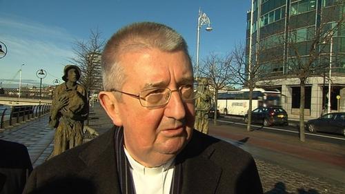 Archbishop Diarmuid Martin said many priests felt hurt by the cartoon
