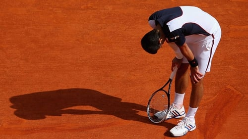 Novak Djokovic struggled in Monte Carlo