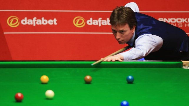 Ken Doherty was dominant in today's concluding session