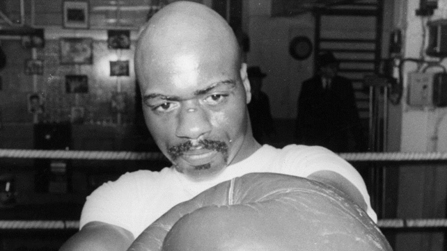 Carter pictured training in 1965, before his murder conviction