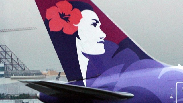 Hawaiian Airlines said the teenager was 'exceptionally lucky' to have survived