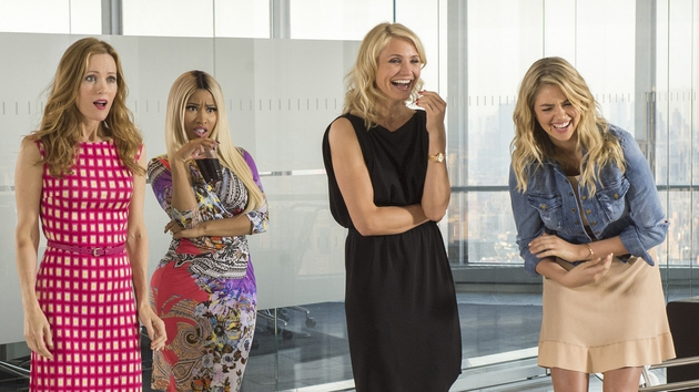 Leslie Mann, Nicki Minaj, Cameron Diaz and Kate Upton star in The Other Woman