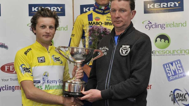 Kerry Group Ras Mumhan winner Mark Dowling