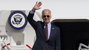 US Vice President Joe Biden will arrive in Ireland tomorrow for a six-day visit