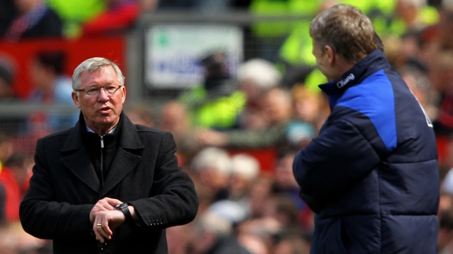 Alex Ferguson chose David Moyes as his successor last year