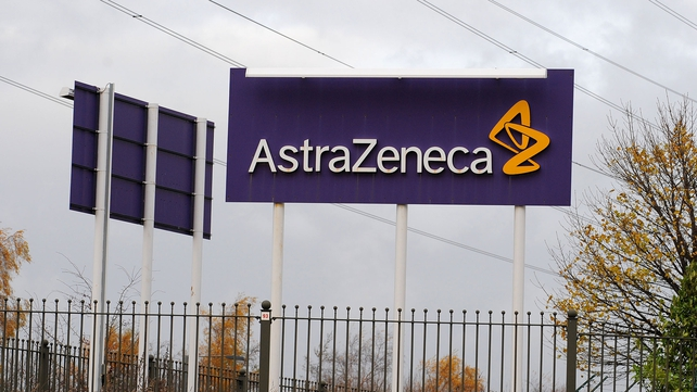 No comment from AstraZeneca on weekend reports that Pfizer had made a tentative approach for the UK firm