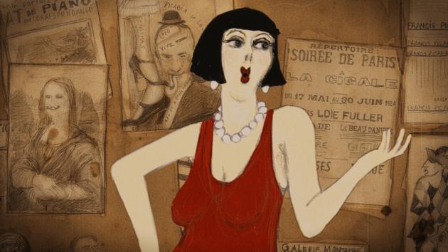 A scene from Kiki of Montparnasse