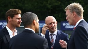 Andre Villas-Boas (Spurs), Ian Holloway (Crystal Palace), David Moyes (Man Utd) Chris Hughton (Norwich) at the launch of this season's Premier League - All four managers have subsequently lost their jobs