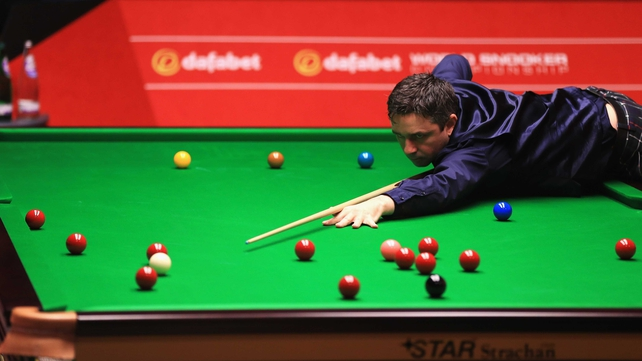 Alan McManus and Ken Doherty get their second-round match underway on Saturday
