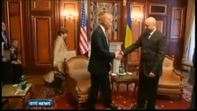 US Vice-President says Russia must act to defuse Ukraine crisis