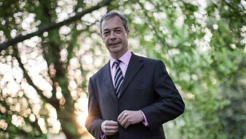 Nigel Farage said nobody else could do his wife's job as well