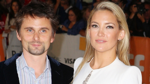 Kate Hudson and fiancé Matt Bellamy