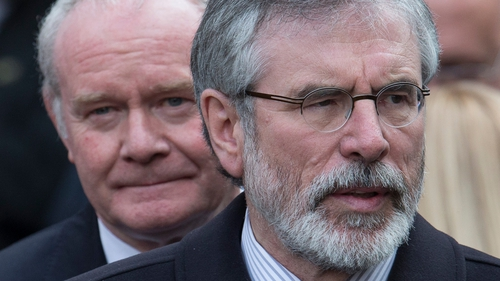 Gerry Adams and Martin McGuinness have denied the allegations