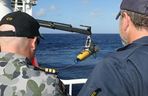The focus of the search is back on US Navy undersea drone Bluefin-21