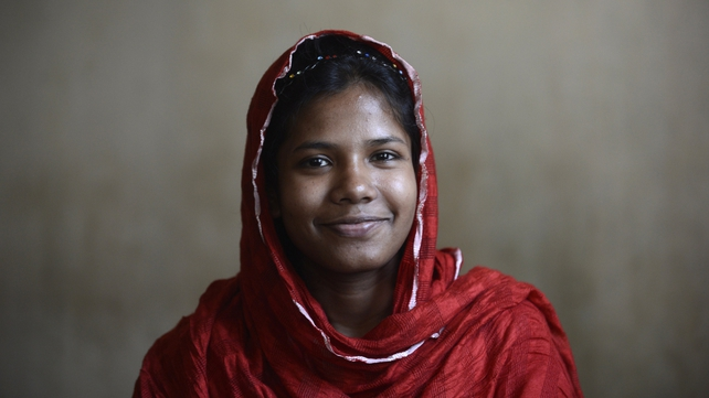 Bangladeshi garment worker Reshma Akter was rescued after 17 days from the rubble of the collapsed Rana Plaza building