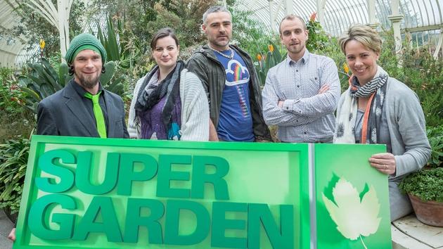 Super Garden returns with five more budding garden designers