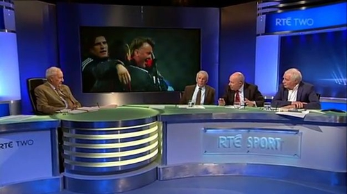 The RTÉ Soccer panel showed a fine sense of timing in a special wedding present