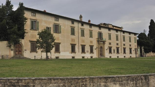 Villa Reale of Castello end Accademia della Crusca